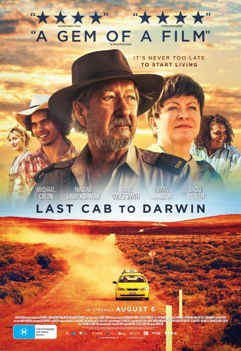 Last Cab to Darwin : Poster