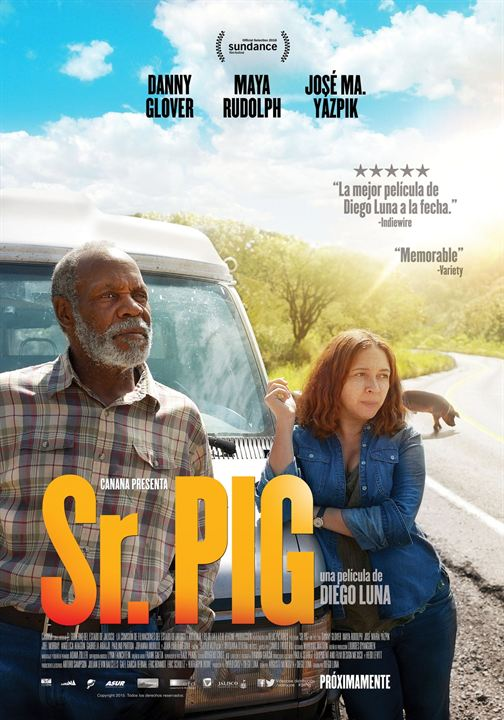 Sr. Pig : Poster