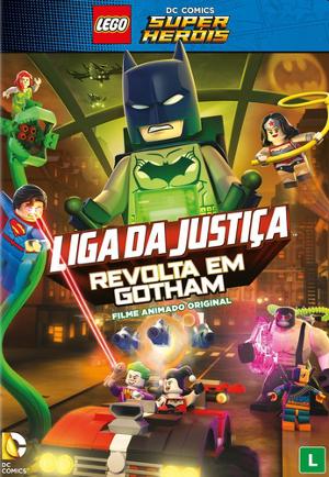 LEGO Liga da Justiça: Fuga em Massa em Gotham City Torrent – BluRay 720p e 1080p Dual Áudio 5.1 Download (2016)