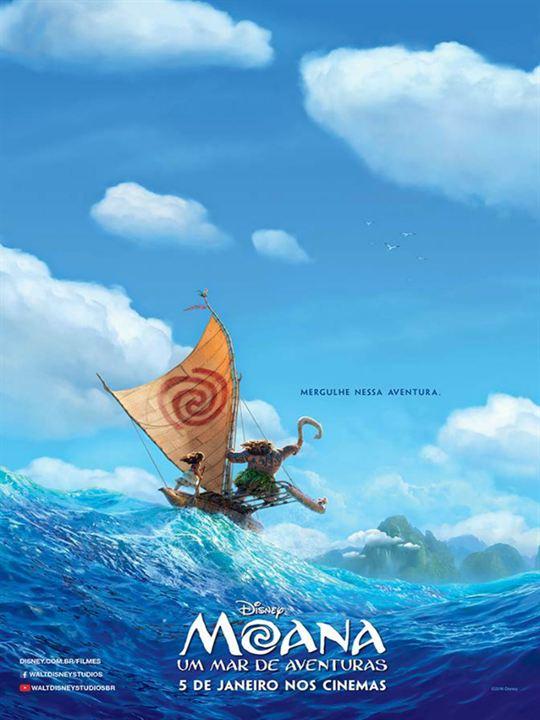 Moana - Um Mar de Aventuras : Poster