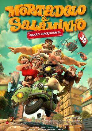 Mortadelo e Salaminho 3D - Missão Inacreditável : Poster