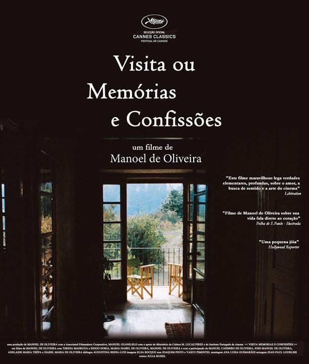 Visita ou Memórias e Confissões : Poster