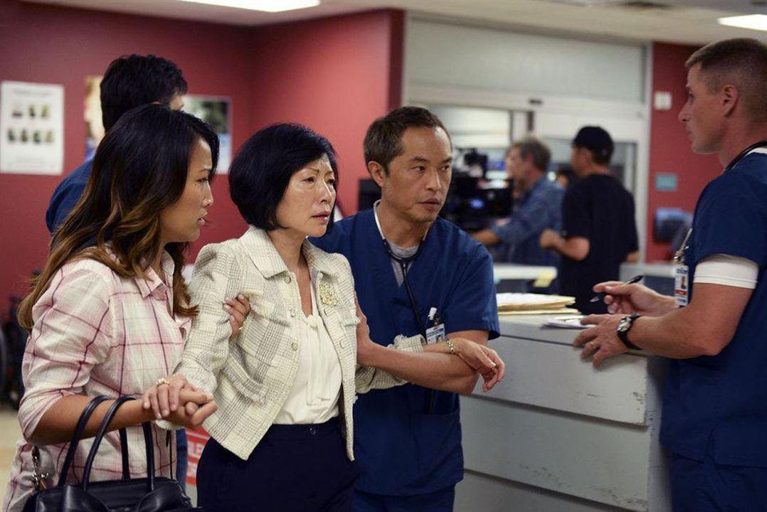 Foto Elizabeth Sung, Ken Leung, Tina Huang