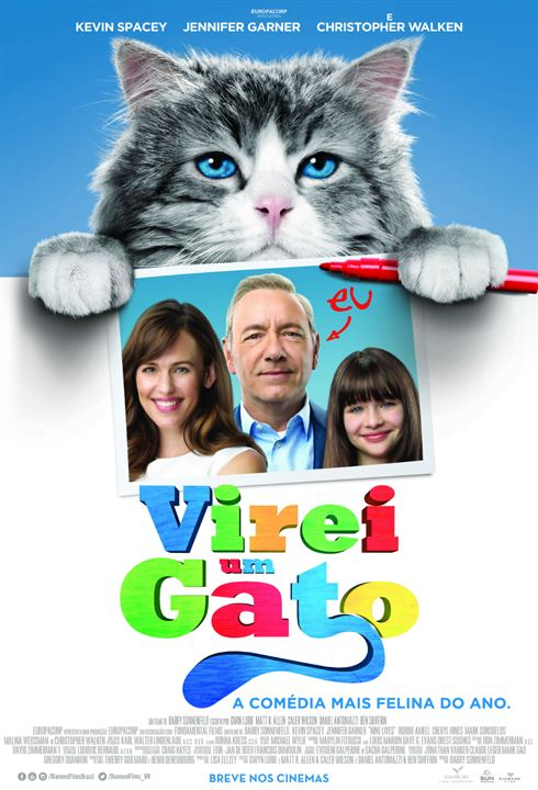 Virei um Gato : Poster