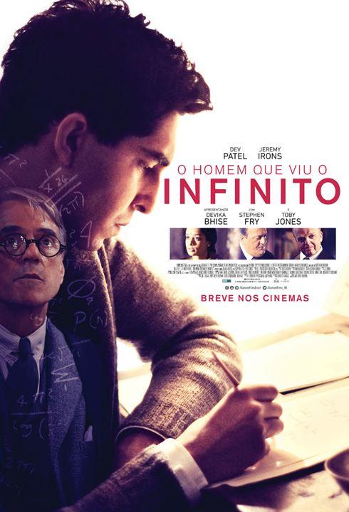 O Homem que Viu o Infinito : Poster