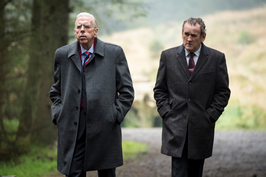 The Journey : Foto Colm Meaney, Timothy Spall