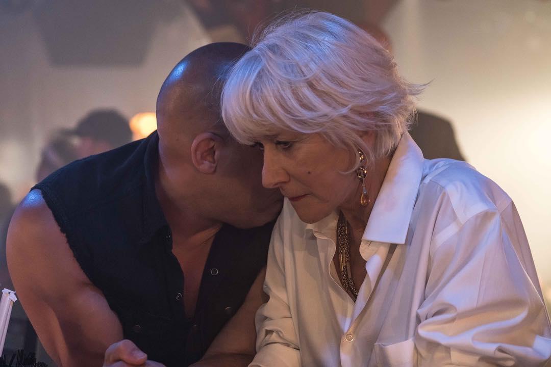 Velozes & Furiosos 8 : Foto Helen Mirren, Vin Diesel