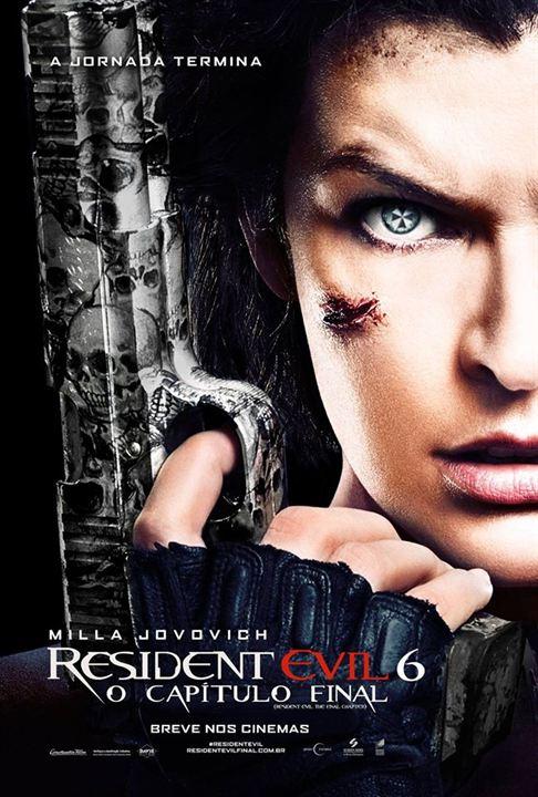 Resident Evil 6: O Capítulo Final - Poster