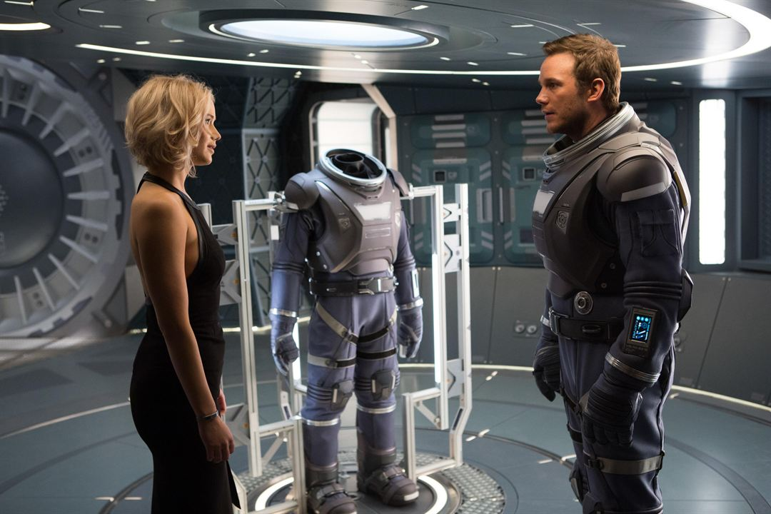 Passageiros : Foto Chris Pratt, Jennifer Lawrence