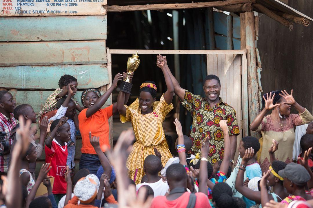 Rainha de Katwe : Foto David Oyelowo, Lupita Nyong'o, Madina Nalwanga