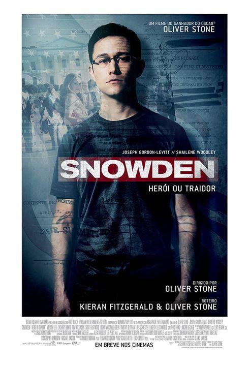 Snowden - Herói ou Traidor : Poster