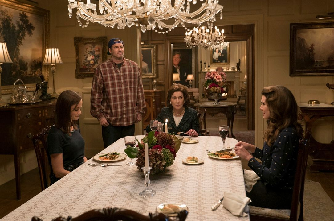 Foto Alexis Bledel, Kelly Bishop, Lauren Graham, Scott Patterson
