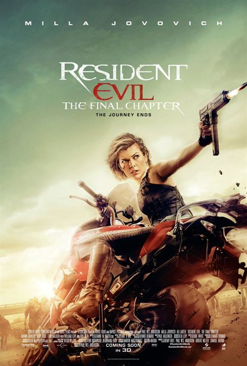 Resident Evil 6: O Capítulo Final : Poster