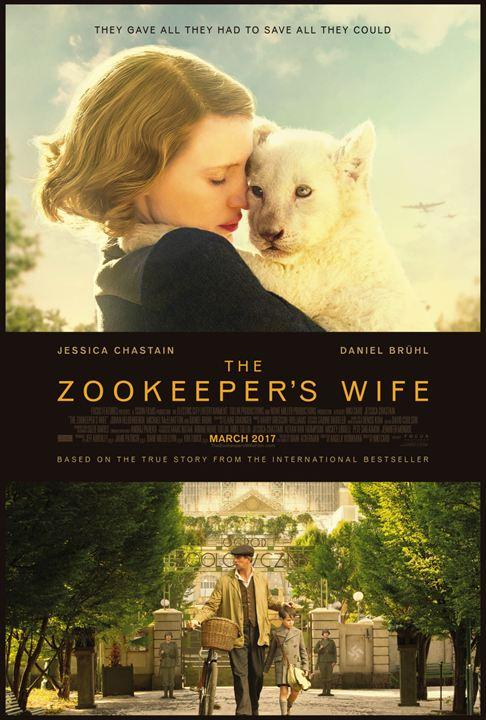 O Zoológico de Varsóvia : Poster