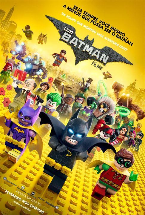 LEGO Batman: O Filme : Poster