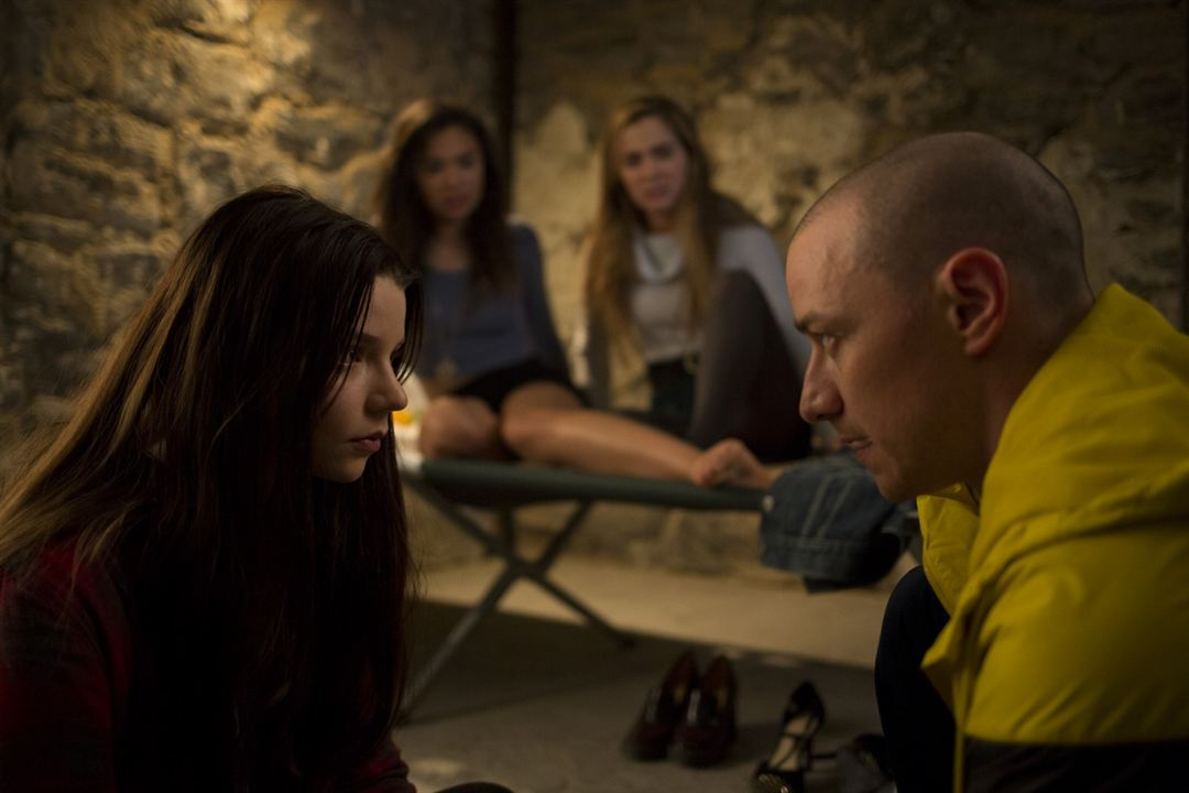 Fragmentado : Foto Anya Taylor-Joy, James McAvoy