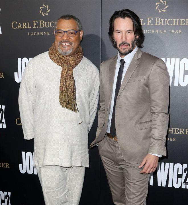 John Wick - Um Novo Dia para Matar : Vignette (magazine) Keanu Reeves, Laurence Fishburne