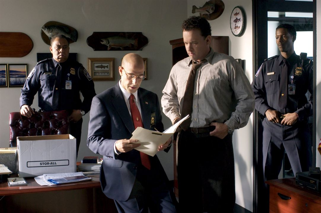 O Terminal : Foto Barry Shabaka Henley, Corey Reynolds, Stanley Tucci, Tom Hanks