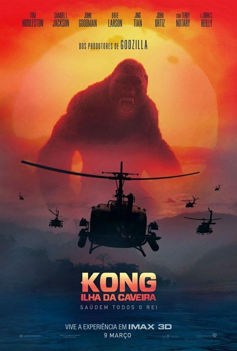 Kong: A Ilha da Caveira : Poster