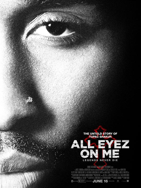 All Eyez On Me : Poster