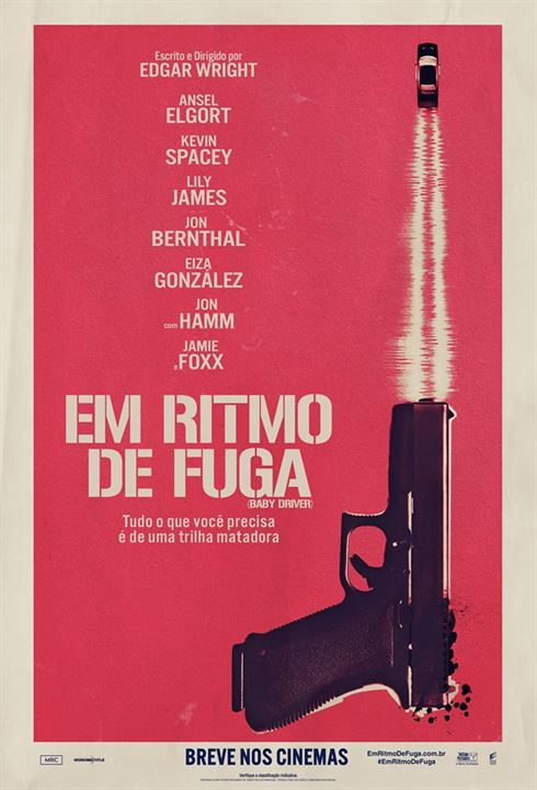 Em Ritmo de Fuga : Poster