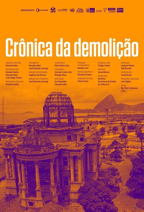 Crônica da Demolição : Poster