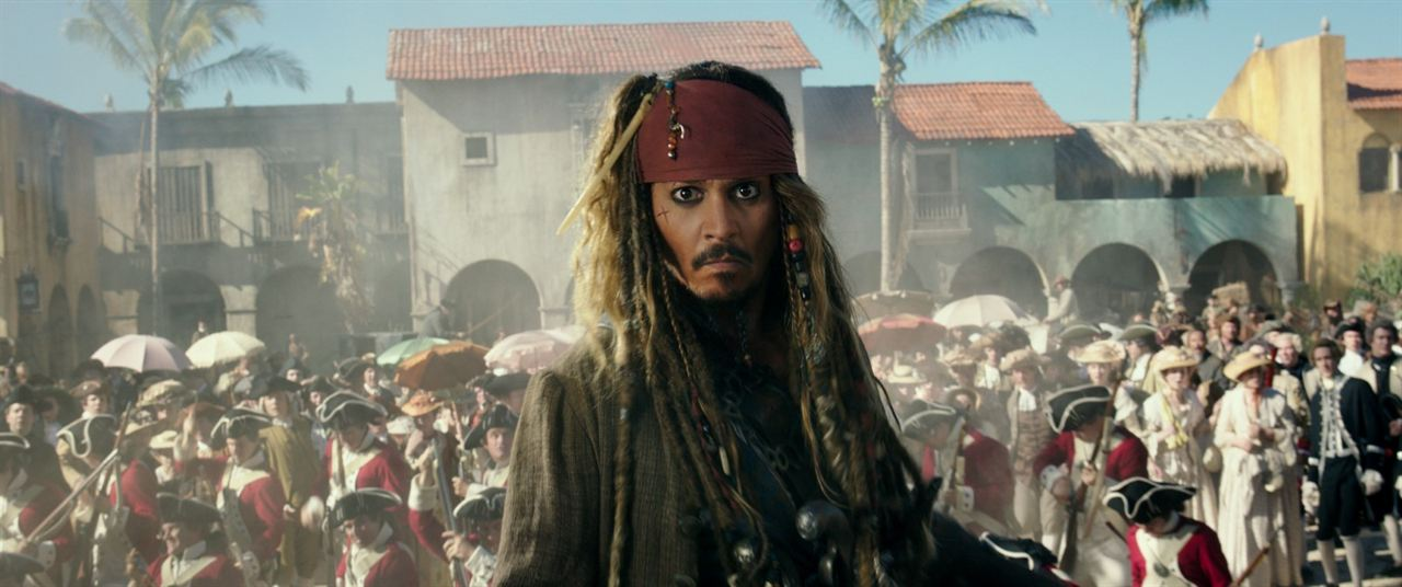 Piratas do Caribe - A Vingança de Salazar : Foto Johnny Depp
