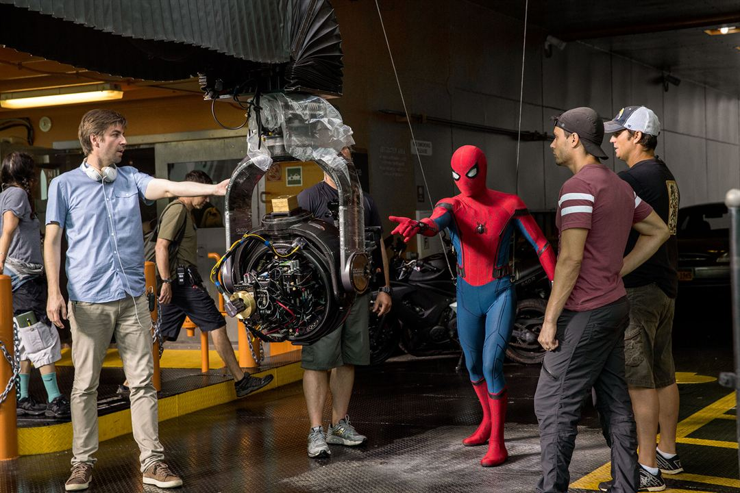 Homem-Aranha: De Volta ao Lar : Foto Jon Watts, Tom Holland
