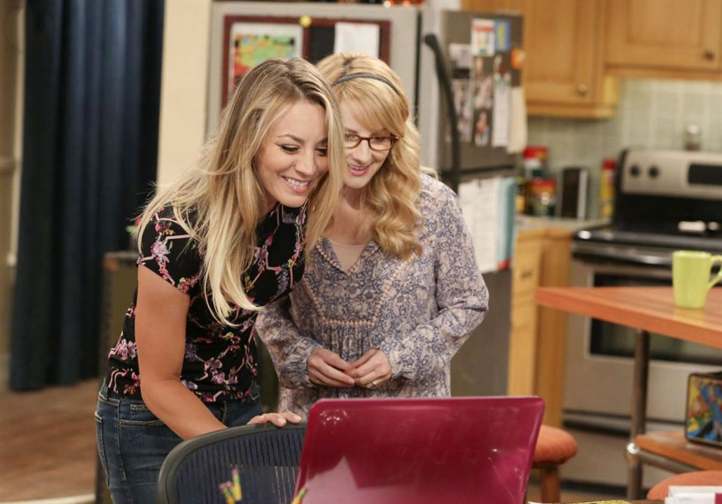 kaley cuoco Melissa rauch and