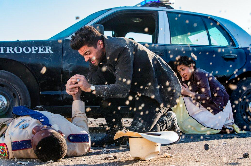 Foto Dominic Cooper, Ruth Negga