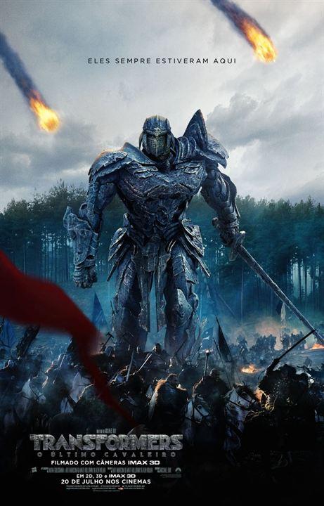 Transformers: O Último Cavaleiro : Poster