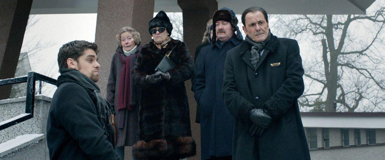Grand froid : Foto Arthur Dupont, Jean-Pierre Bacri