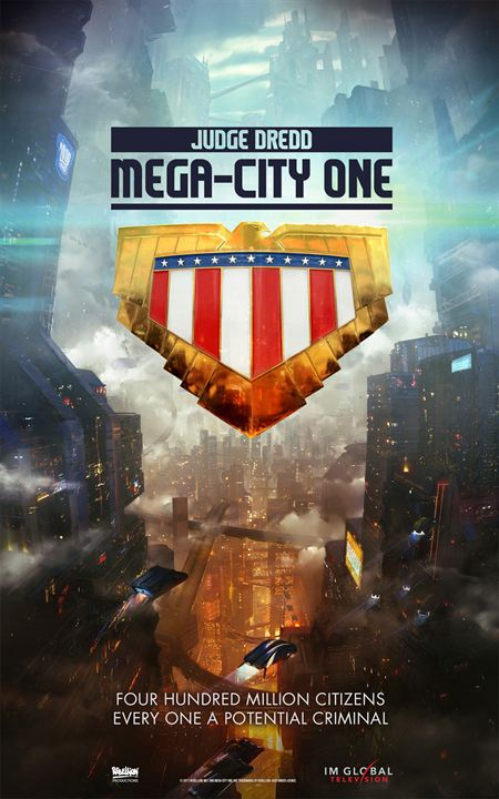 Judge Dredd: Mega City One : Poster