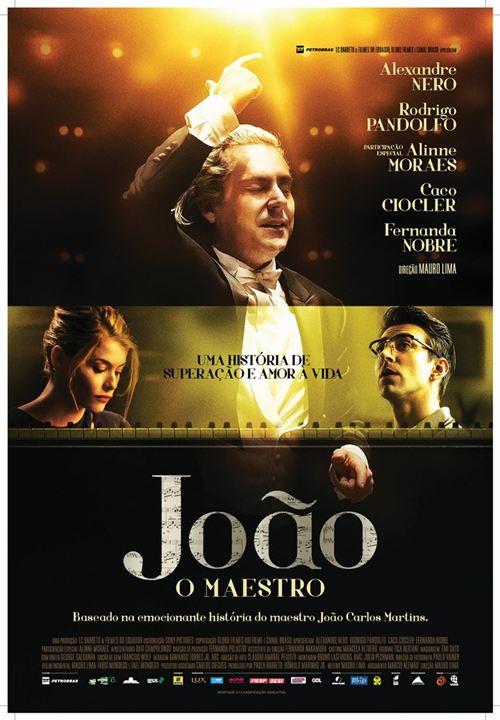 João, o Maestro : Poster