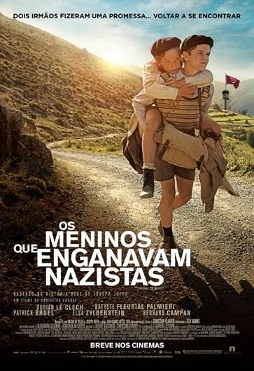 Os Meninos que Enganavam Nazistas : Poster