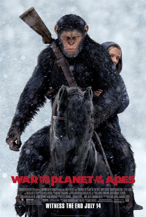 Planeta dos Macacos: A Guerra : Poster
