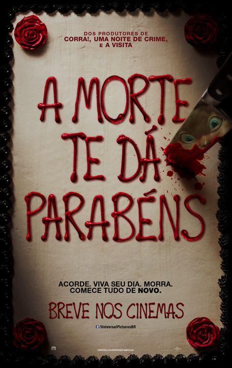 A Morte Te Dá Parabéns : Poster