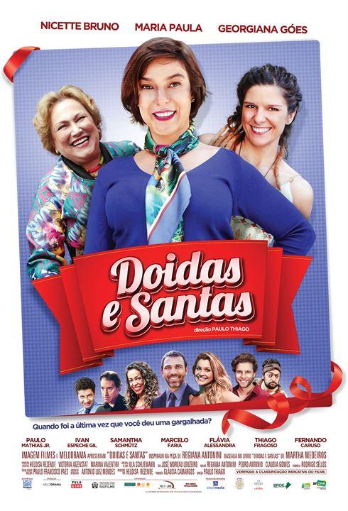 Doidas e Santas : Poster