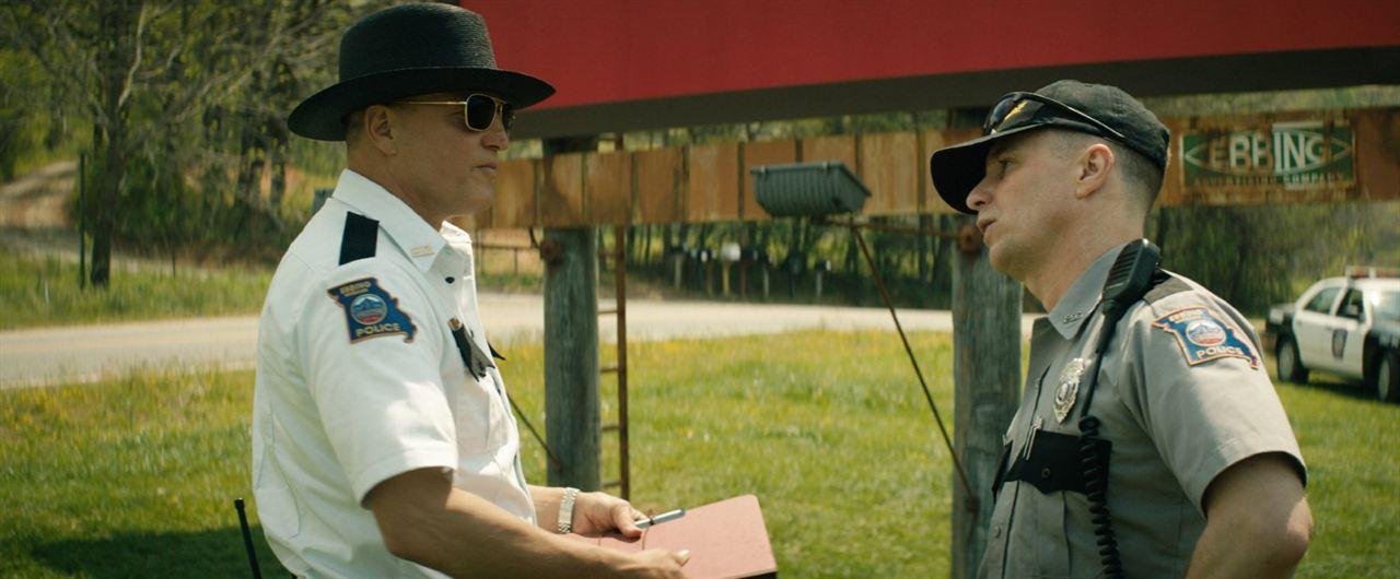 Três Anúncios para um Crime : Foto Sam Rockwell, Woody Harrelson