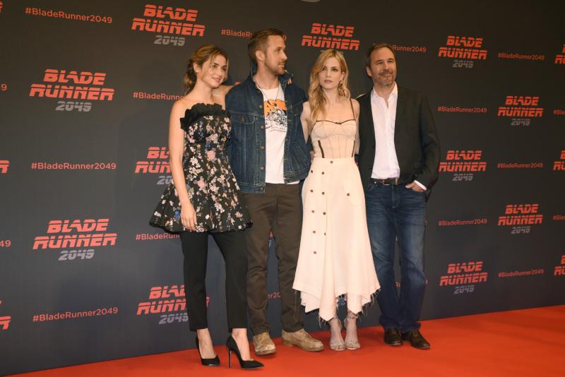 Blade Runner 2049 : Vignette (magazine) Ana de Armas, Denis Villeneuve, Ryan Gosling, Sylvia Hoeks