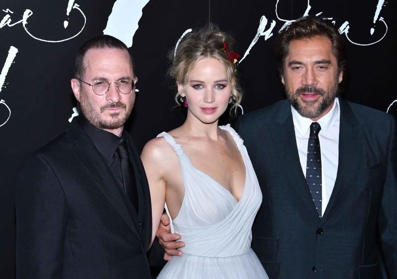 mãe! : Vignette (magazine) Darren Aronofsky, Javier Bardem, Jennifer Lawrence