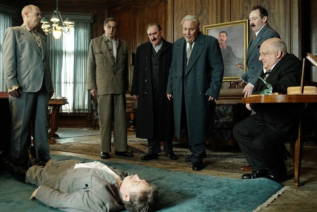 A Morte de Stalin : Foto Adrian McLoughlin, Jeffrey Tambor, Paul Whitehouse, Simon Russell Beale, Steve Buscemi