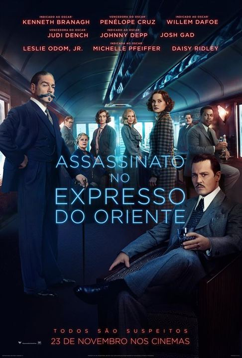 Assassinato no Expresso do Oriente : Poster