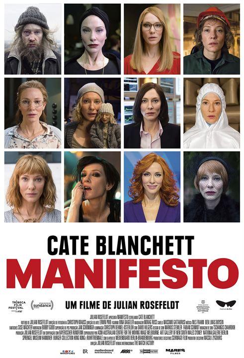 Resultado de imagem para manifesto poster filme