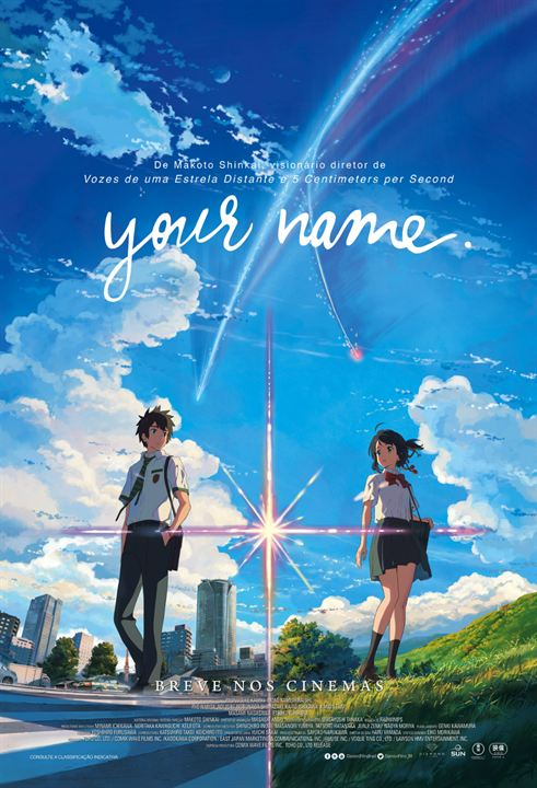 Your Name : Poster