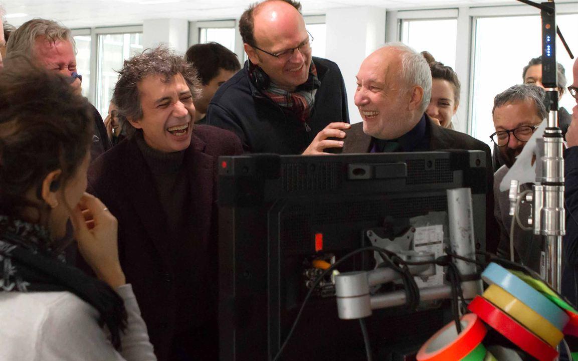 Je vais mieux : Foto Eric Elmosnino, François Berléand, Jean-Pierre Améris