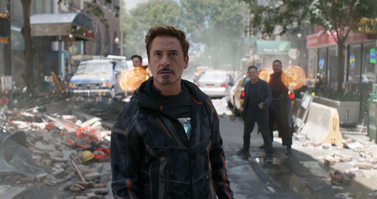 Vingadores: Guerra Infinita: Robert Downey Jr.