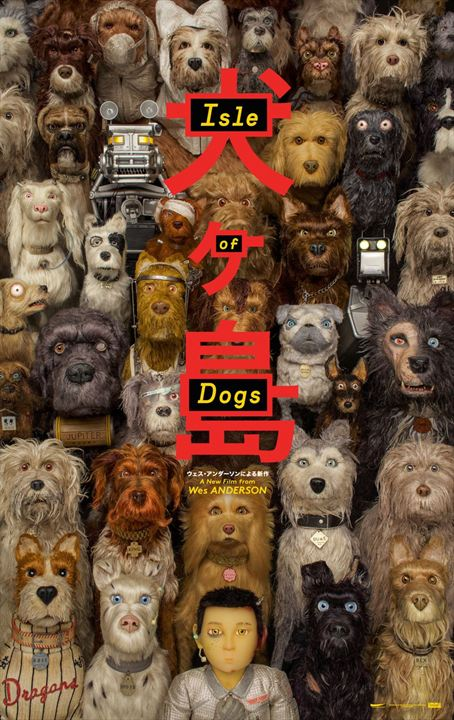Isle of Dogs : Poster