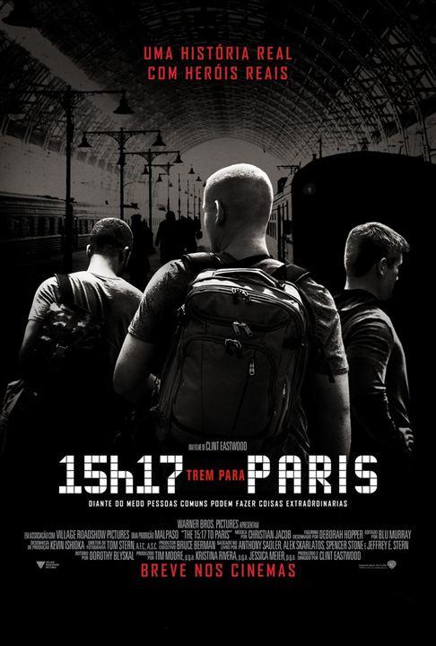 15h17 - Trem Para Paris : Poster