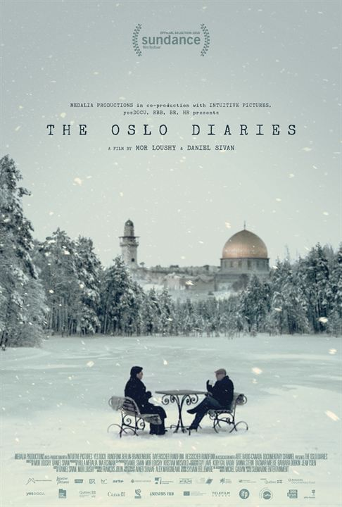 The Oslo Diaries : Poster